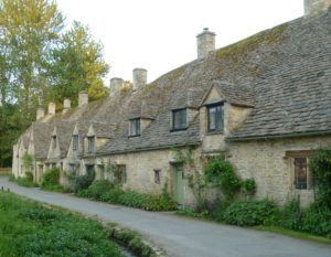 """Bibury has been called """"the most beautiful village in England"""""""