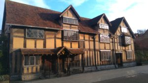 You can visit the house where William Shakespeare was born.