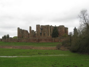 Kenilworth Castle: where a six month siege took place