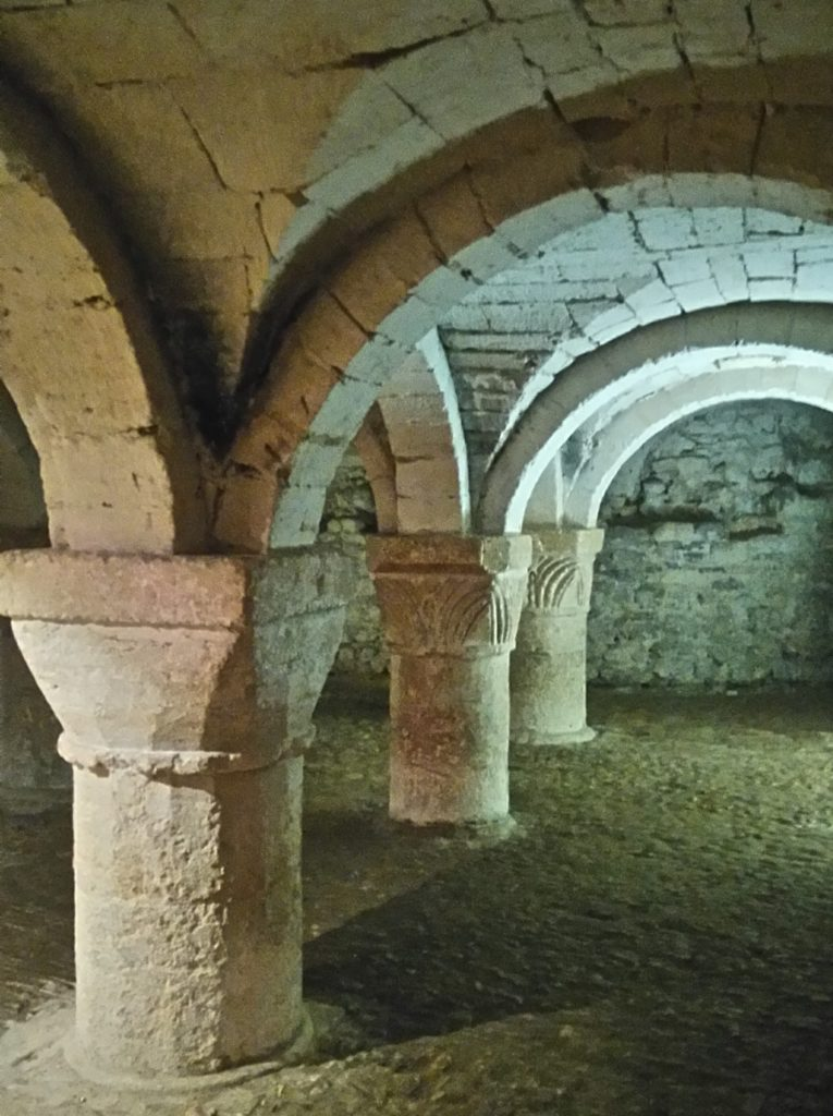 St George's Chapel Crypt at Oxford Castle