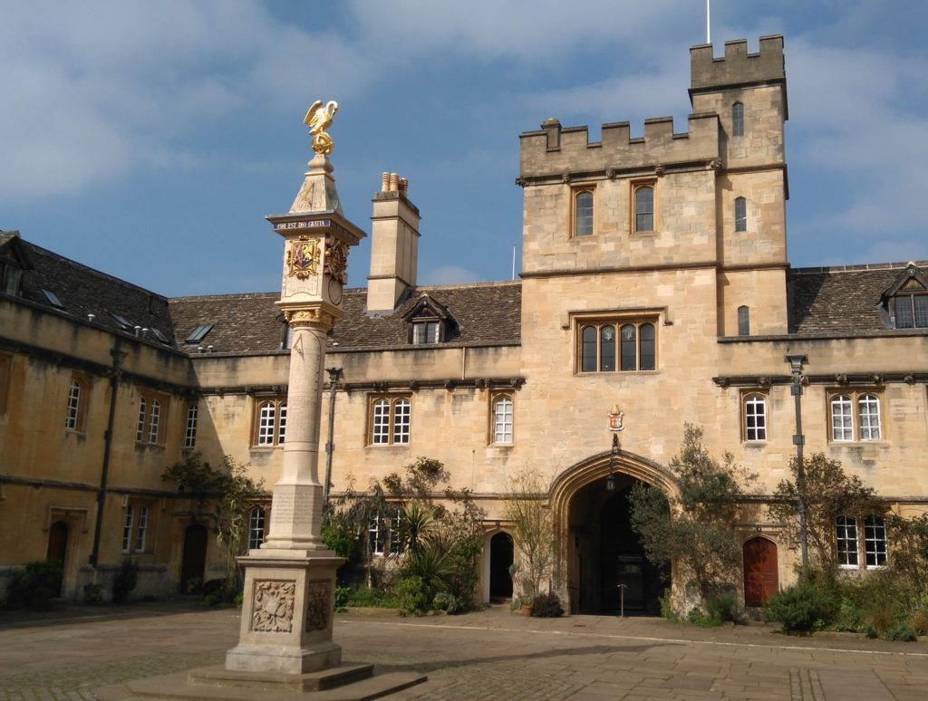 Corpus chrisit College Oxford