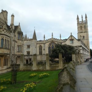 Magdalen College Oxford where C.S.Lewis taught.