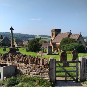 The beautiful village of Snowshill